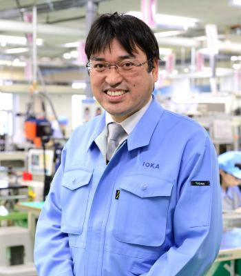 代表取締役社長 井岡秋夫